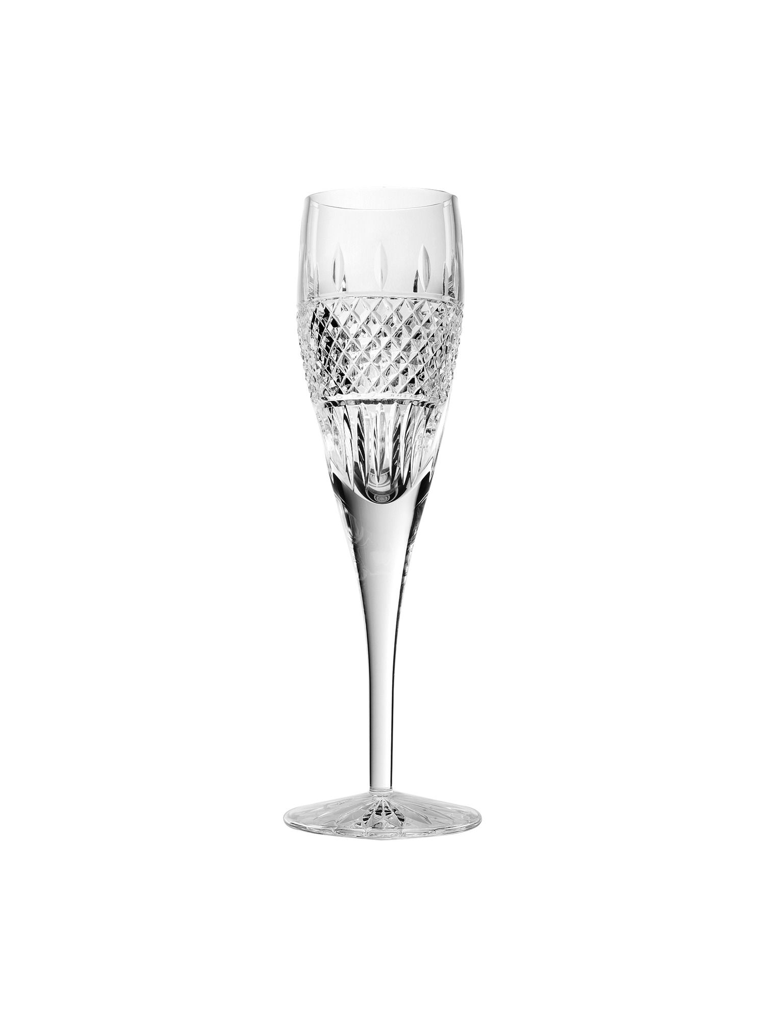 Irish lace champagne flute - set of 2