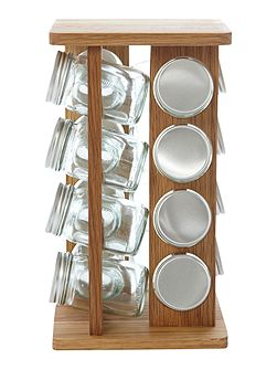 Square spice rack