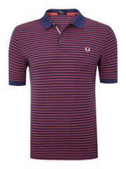 Fred Perry Regular fit fine stripe polo shirt