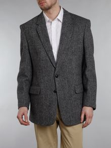 Harris Tweed Laxdale herringbone regular fit blazer