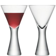 LSA Moya wine glass x2 395ml