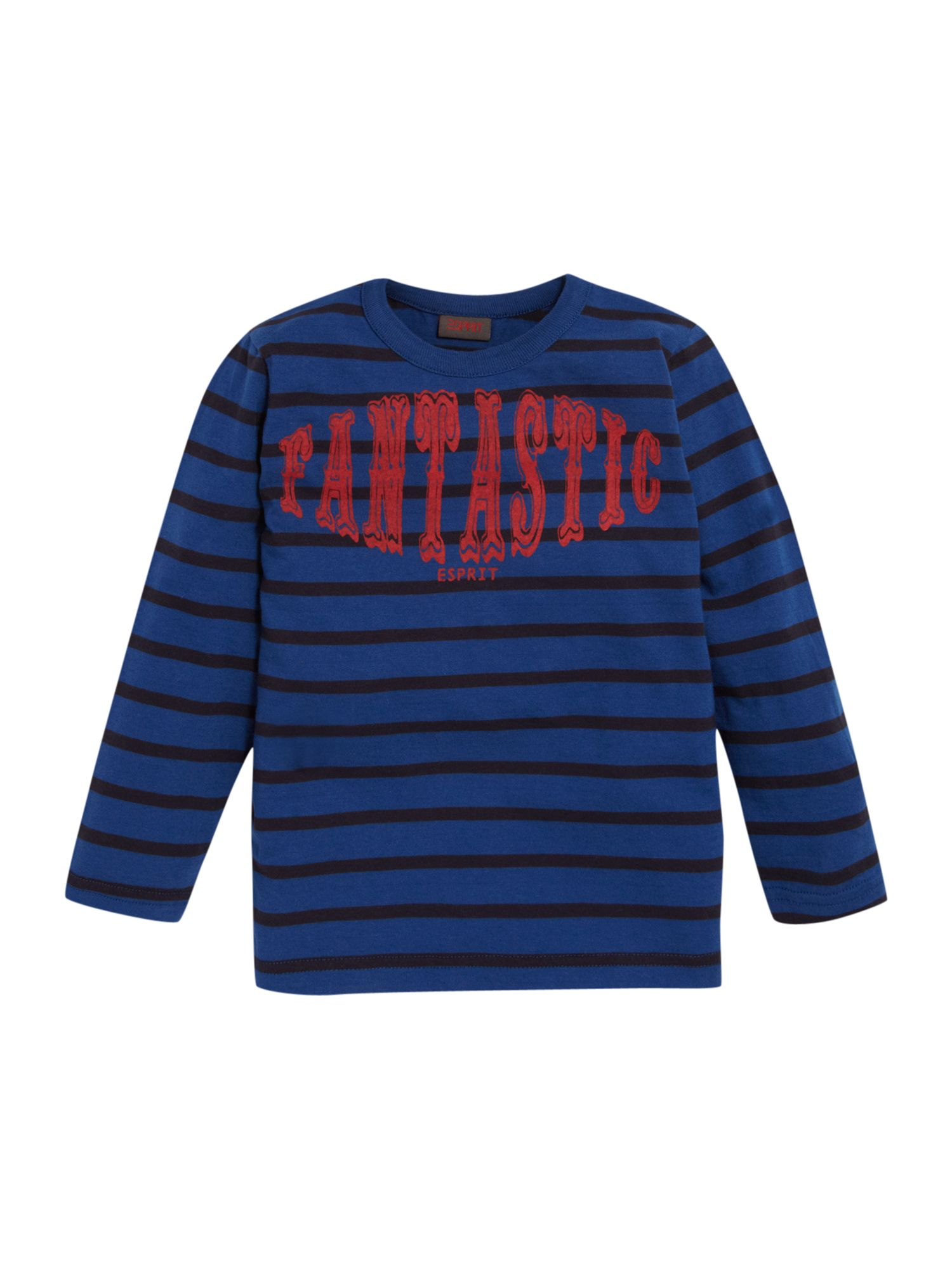 Esprit Long sleeved stripe t-shirt, Blue 161964959 product image