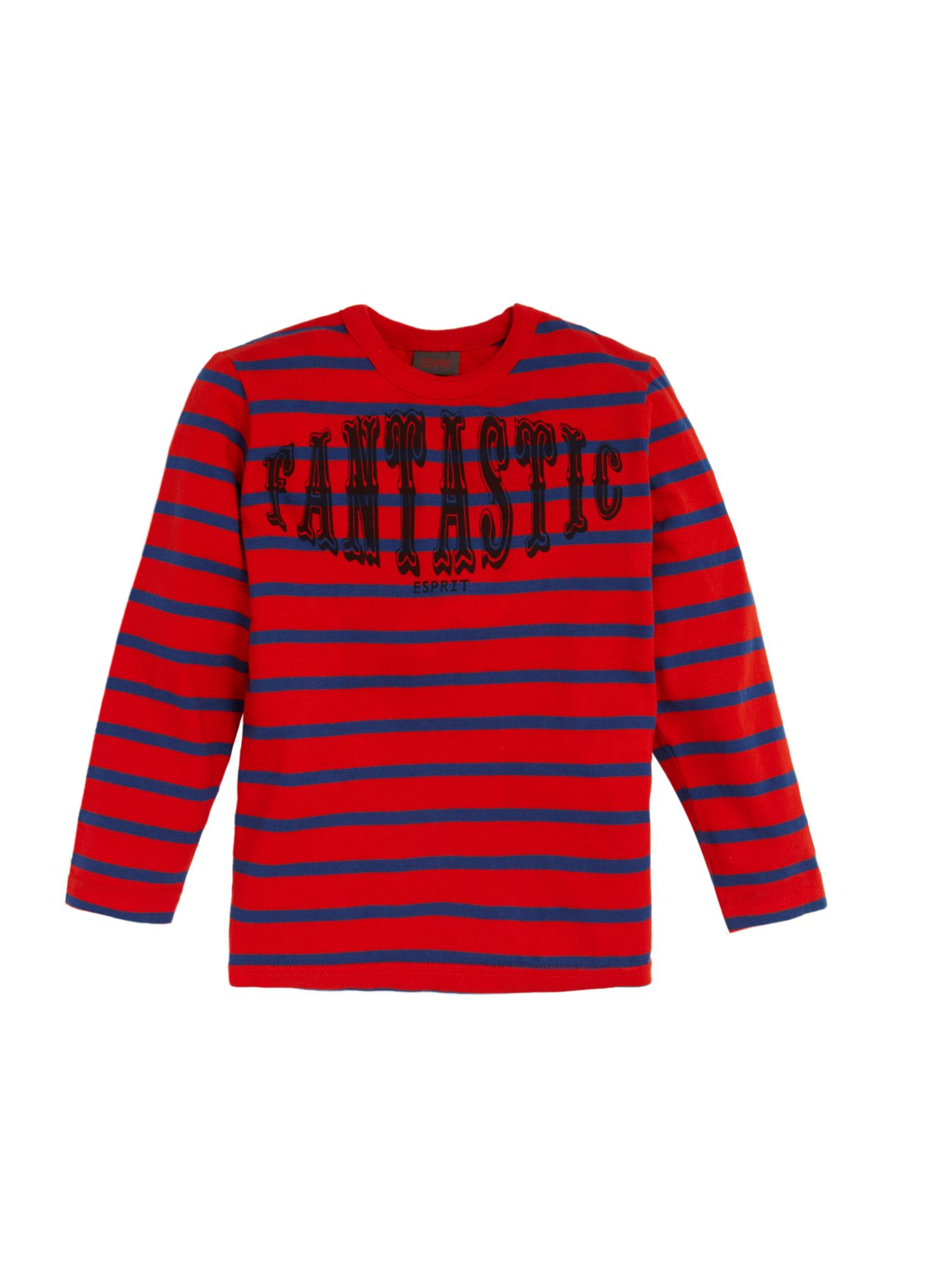 Esprit Long sleeved stripe t-shirt, Red 161964991 product image