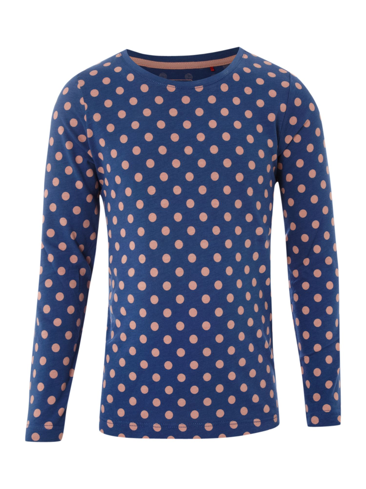 Esprit Long sleeve printed t-shirt, Blue 161977724 product image