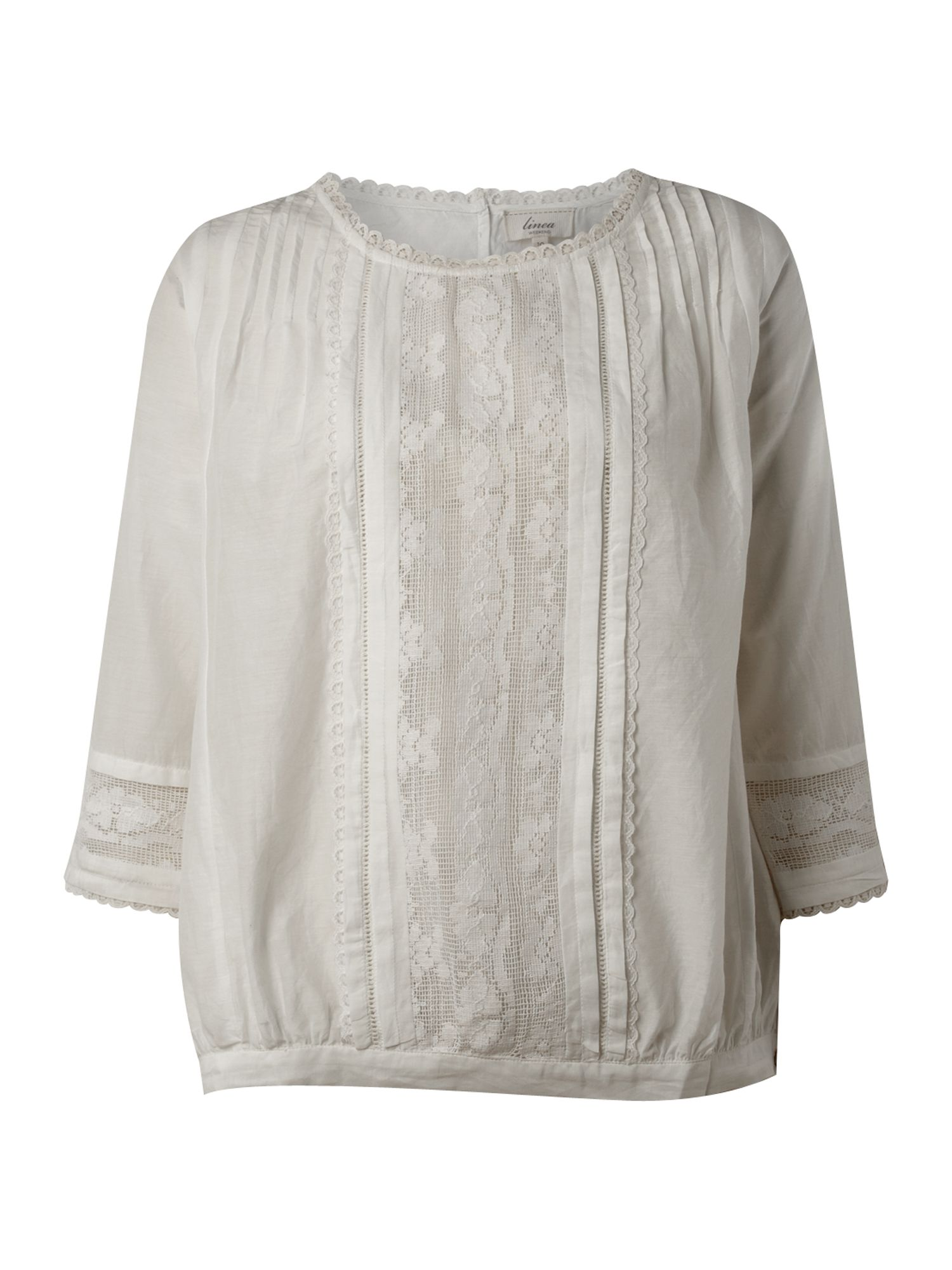 Linea Weekend Womens Linea Weekend Prarie blouse with product image