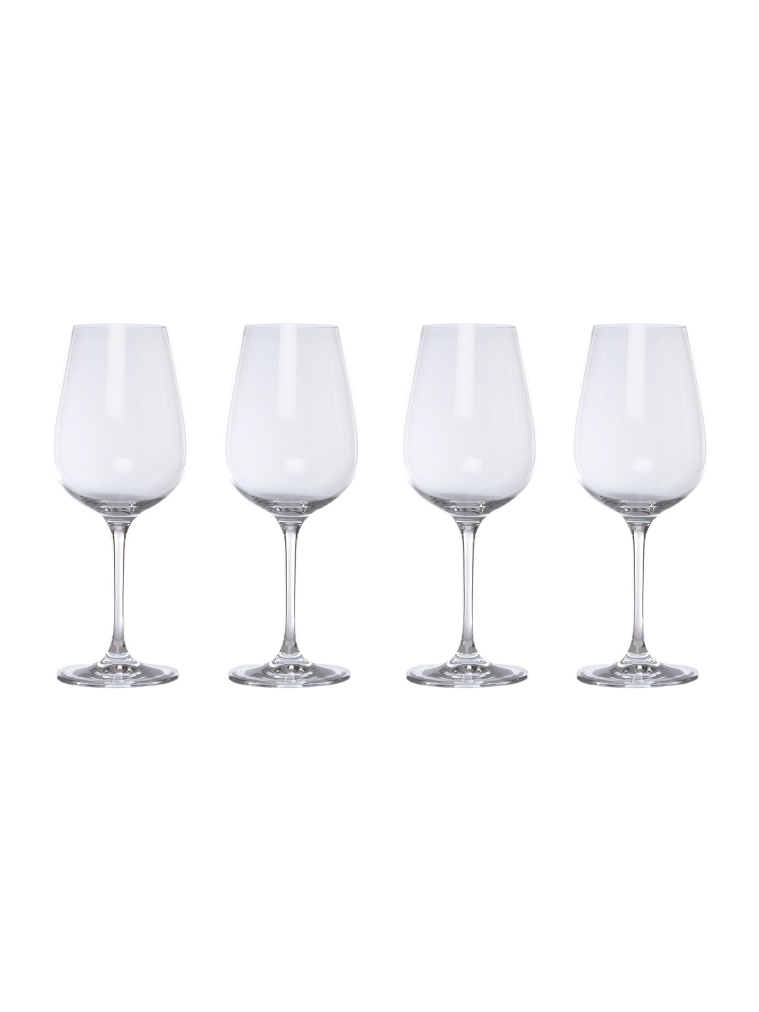 Emily red wine glasses bof of 4