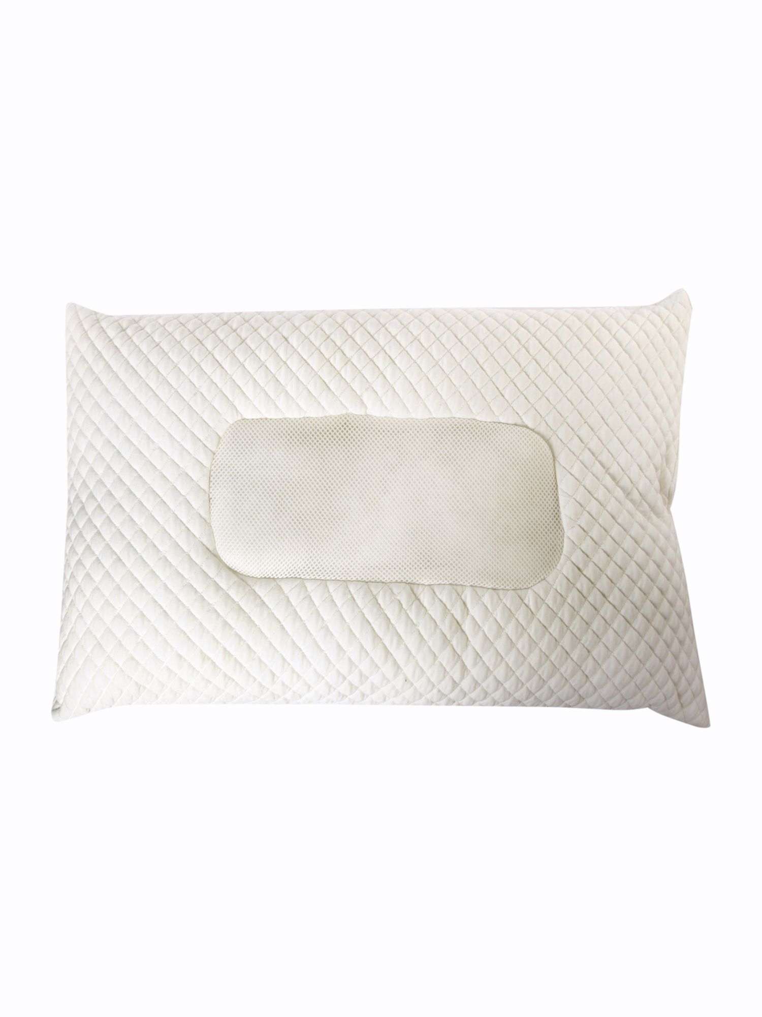Quilted / mesh support pillow