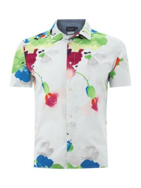 Paul Smith Jeans Floral short sleeve shirt