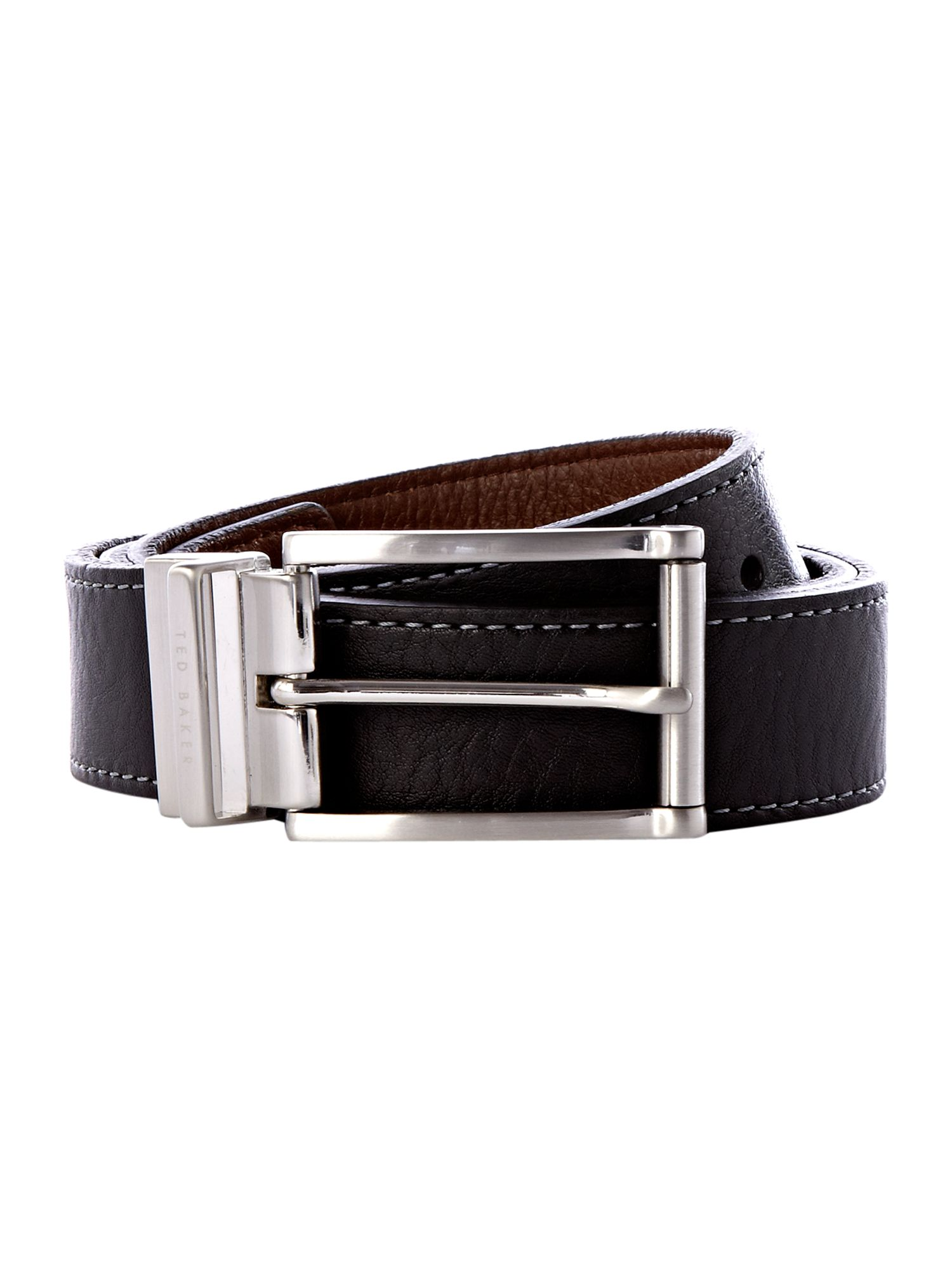 Casual reversible belt