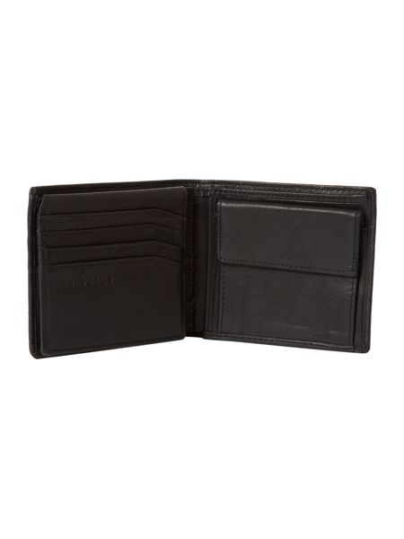 Ted Baker Logo stud wallet with coin pocket