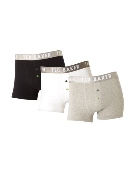 Ted Baker 3 pack plain brief