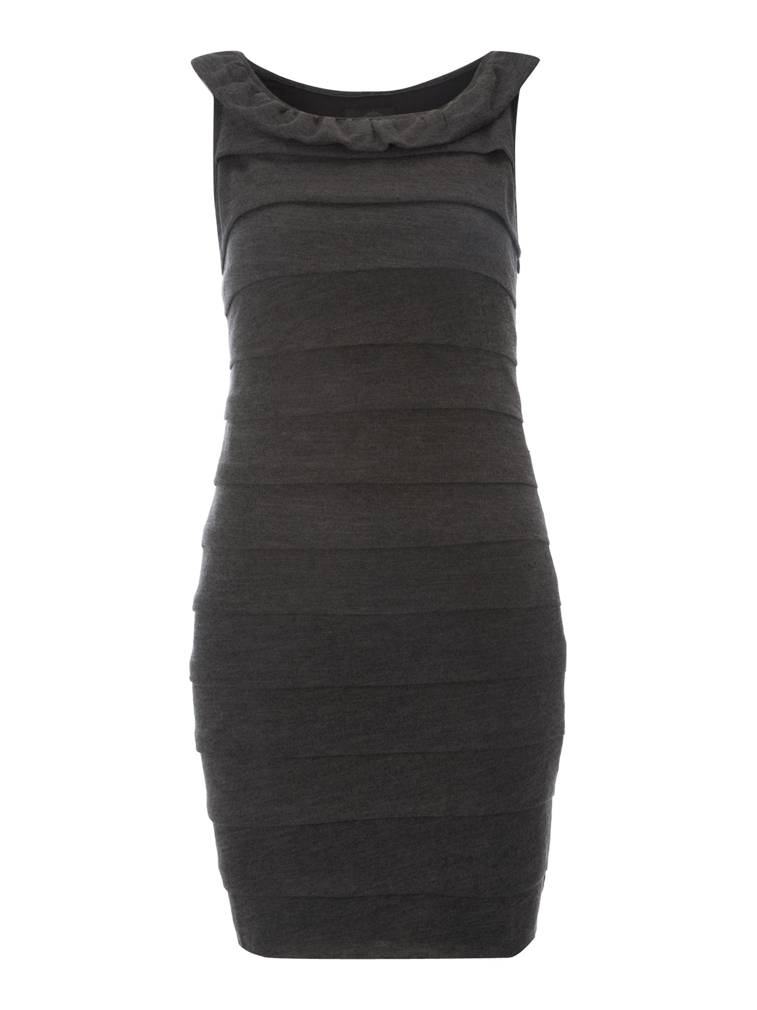 Women's Madam Rage Knit layer dress, Grey