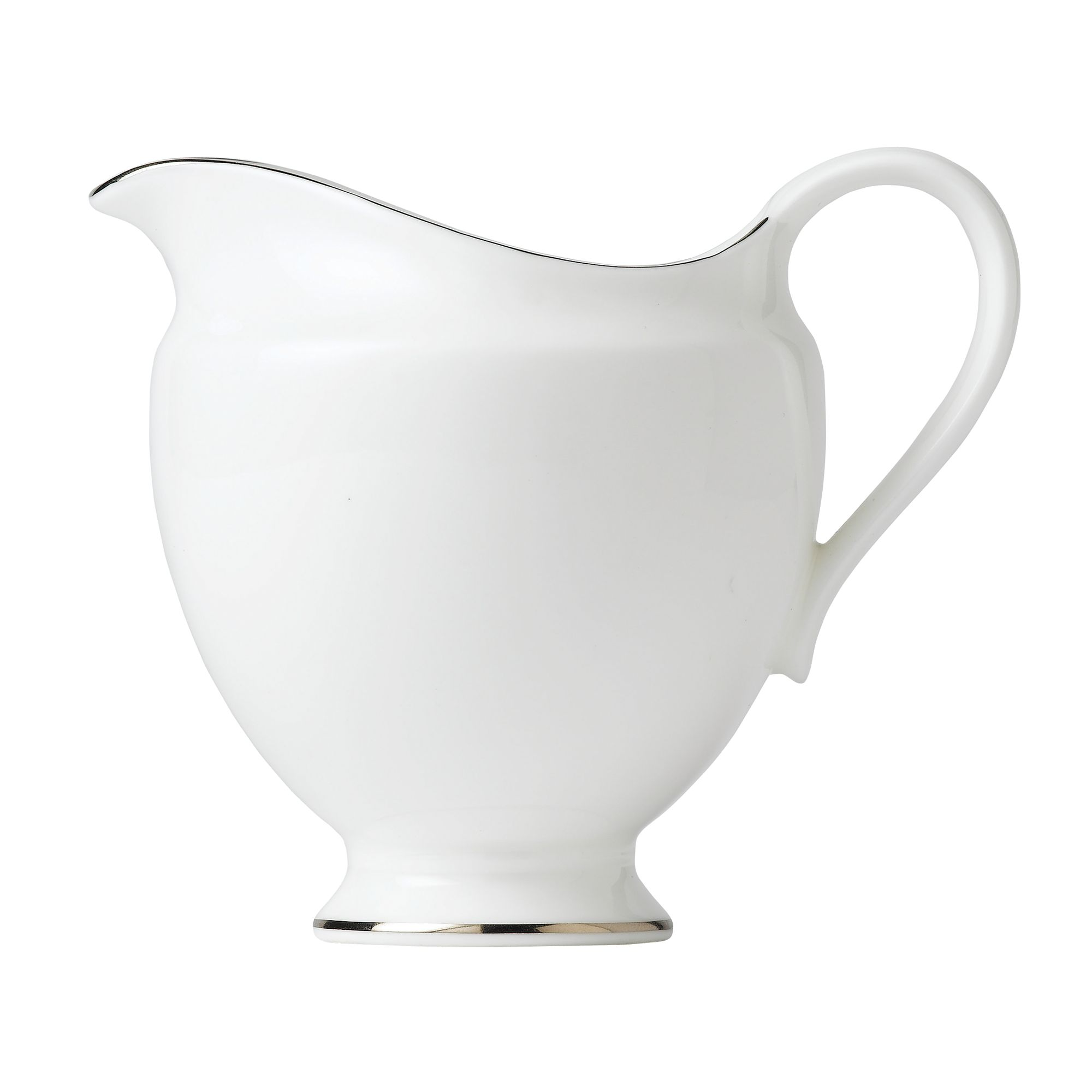 Signet Platinum Cream Jug