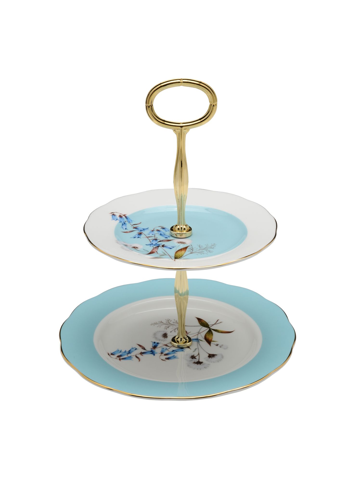 100 years of 1950 festival 2 tier cake stand