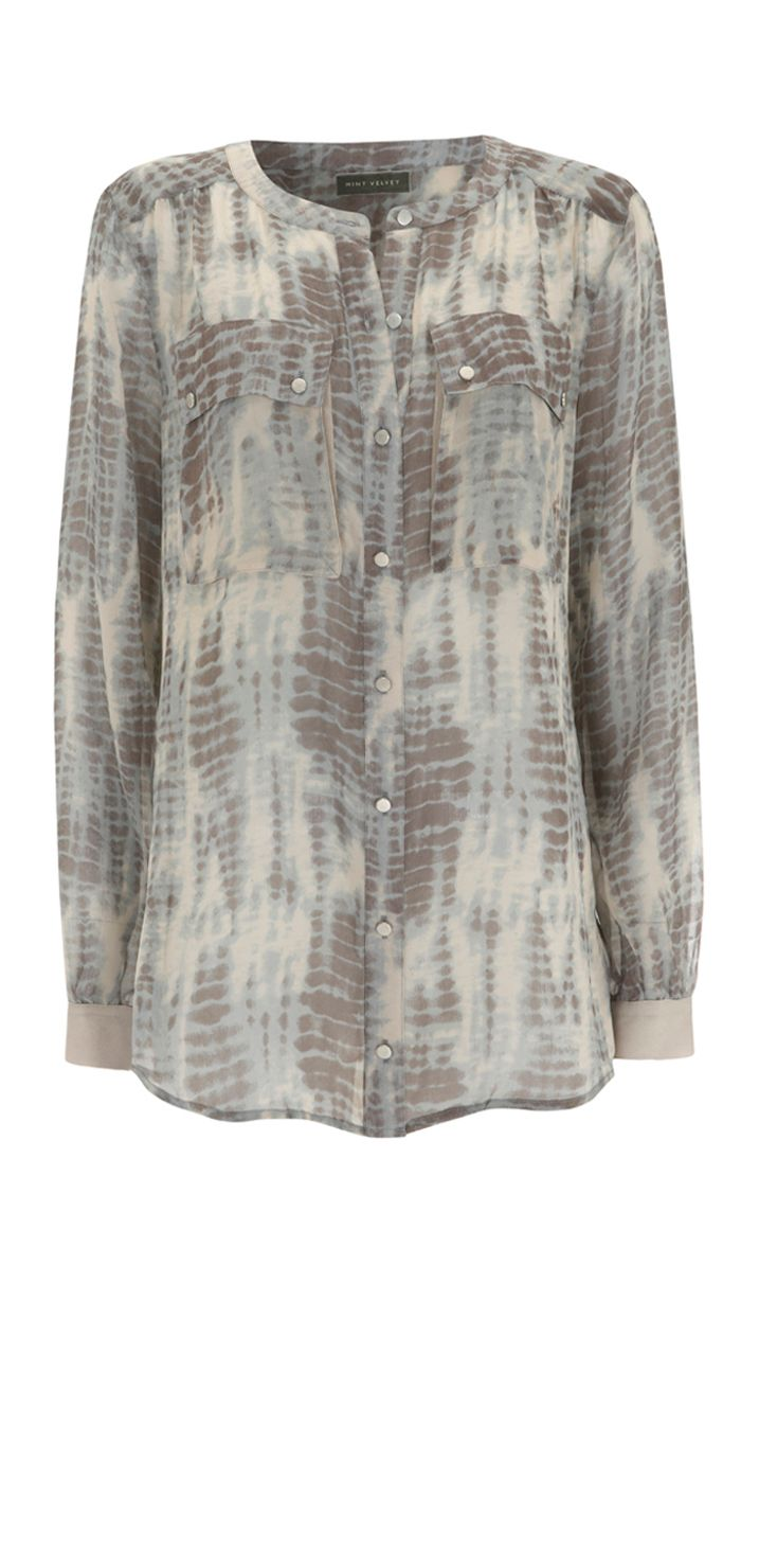 Mint Velvet Womens Mint Velvet The lara print blouse, product image