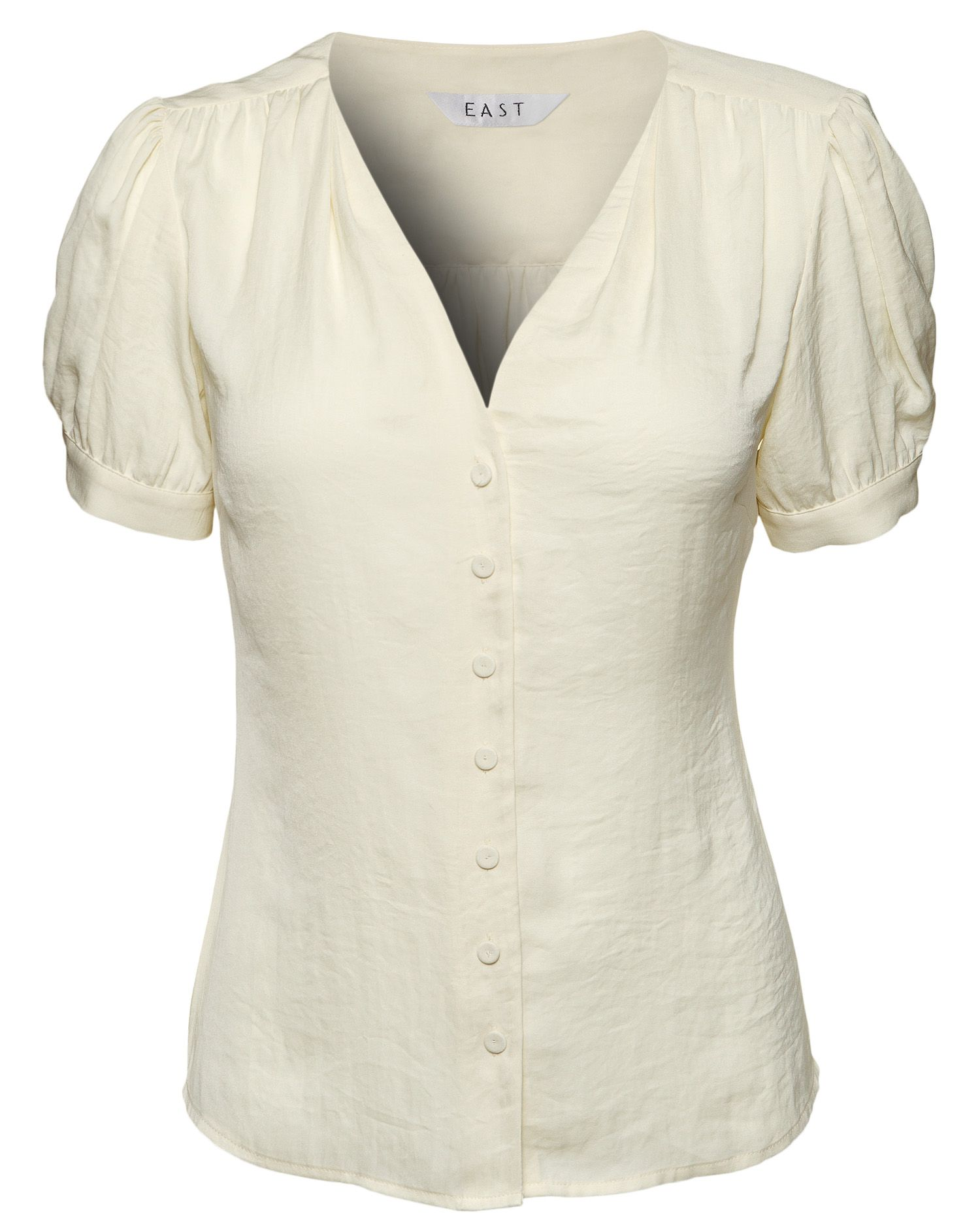 East Womens East Jameila plain blouse, Ivory product image