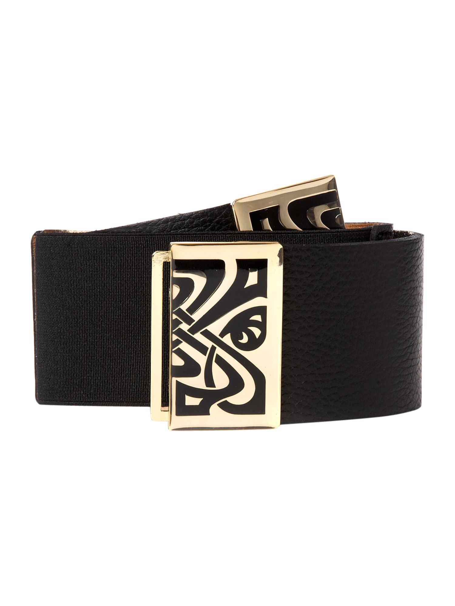 Enamel buckle belt