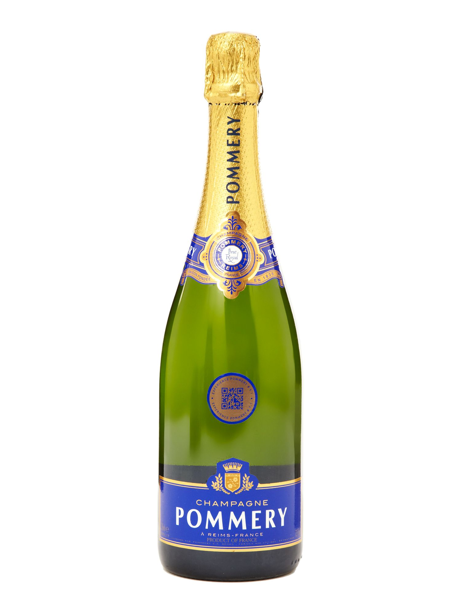 Pommery Brut Royal NV in a metal gift box