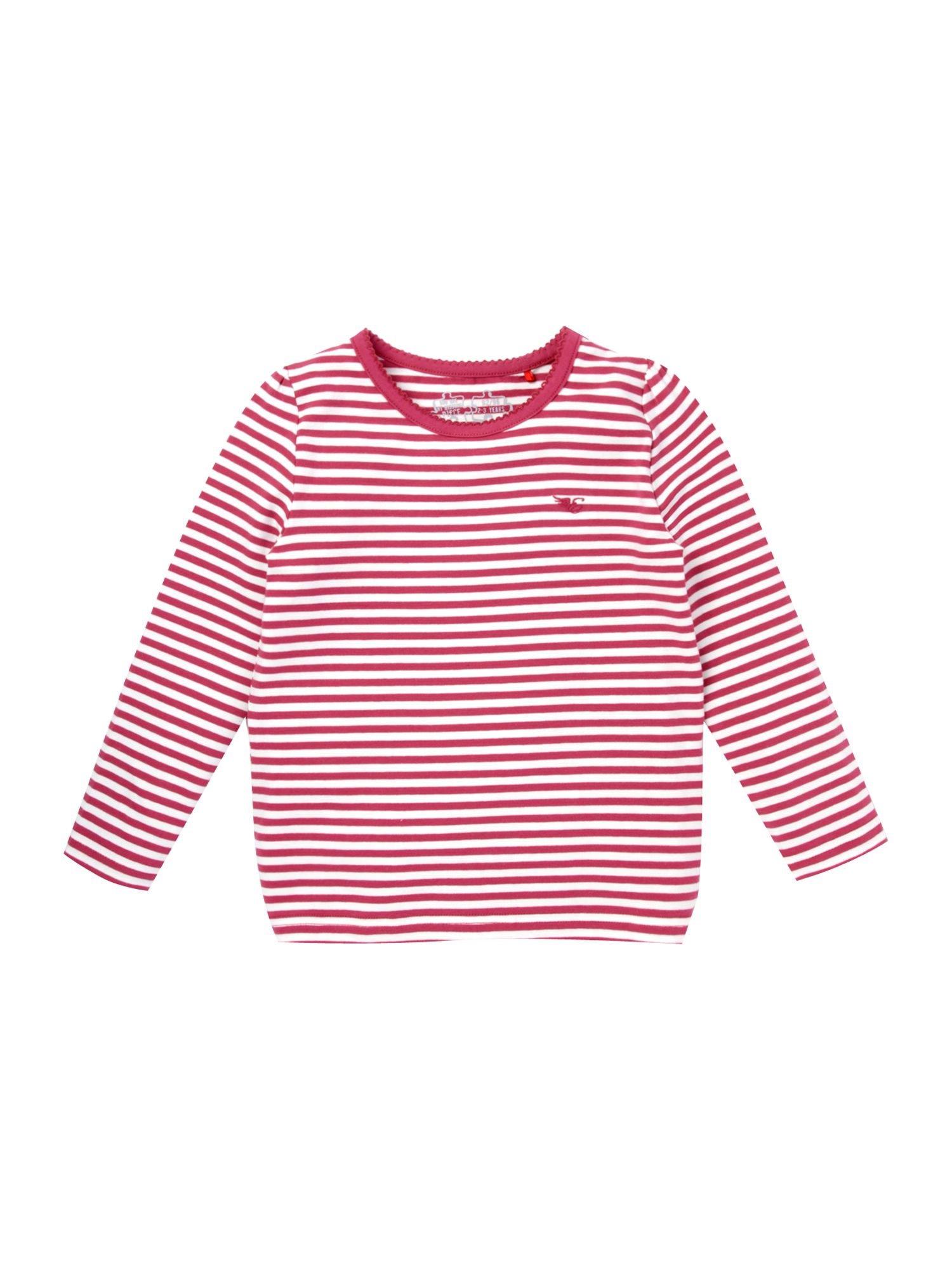 Esprit Long-sleeve striped t-shirt, Pink 163352522 product image