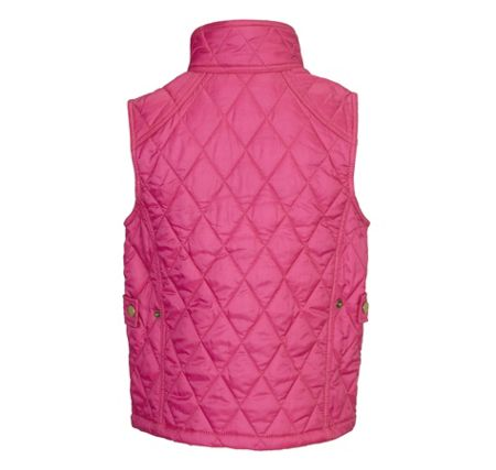 Barbour Girl`s classic Liddesdale quilted gilet