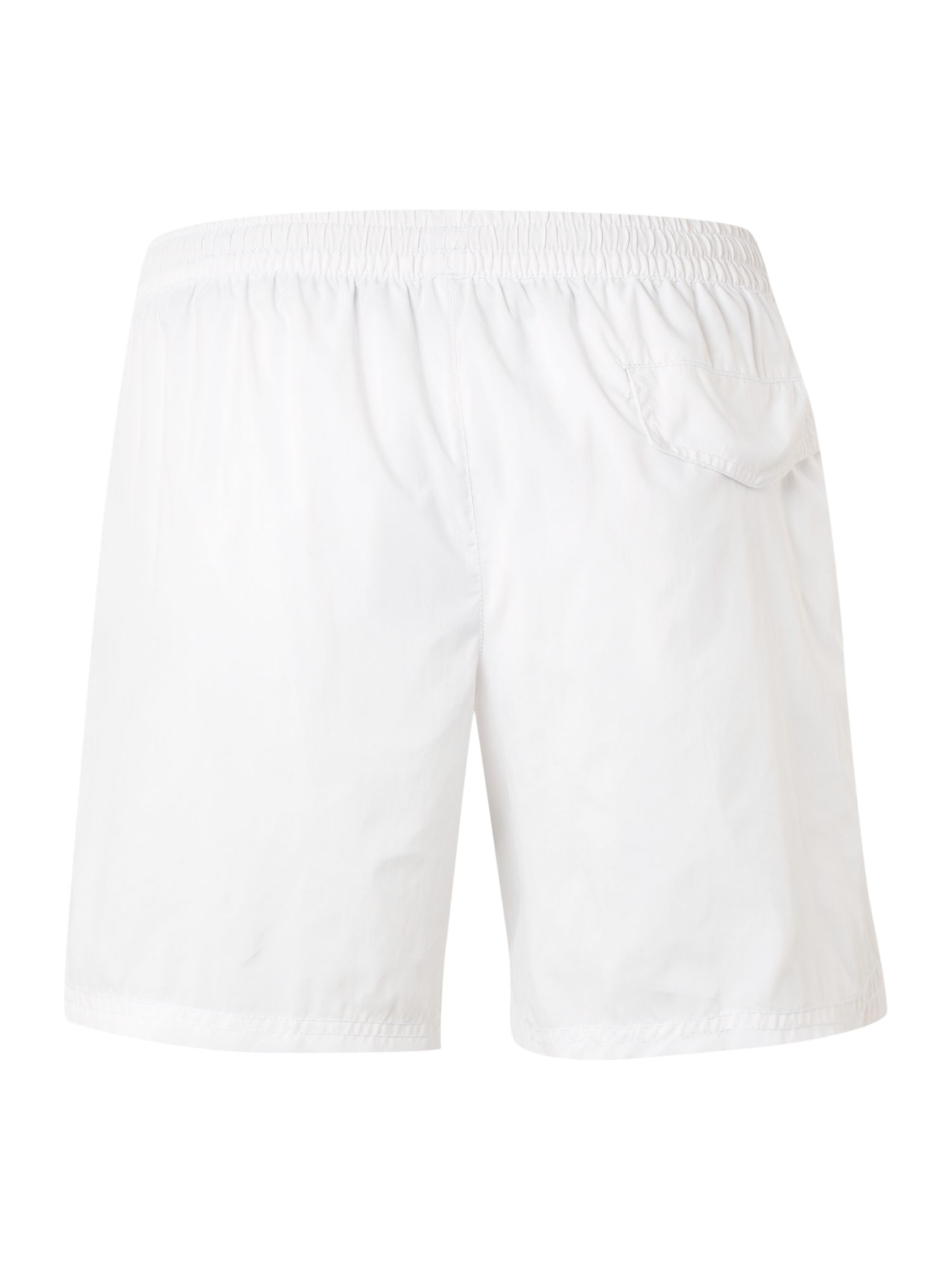 Classic swim shorts with contrast stitch trim