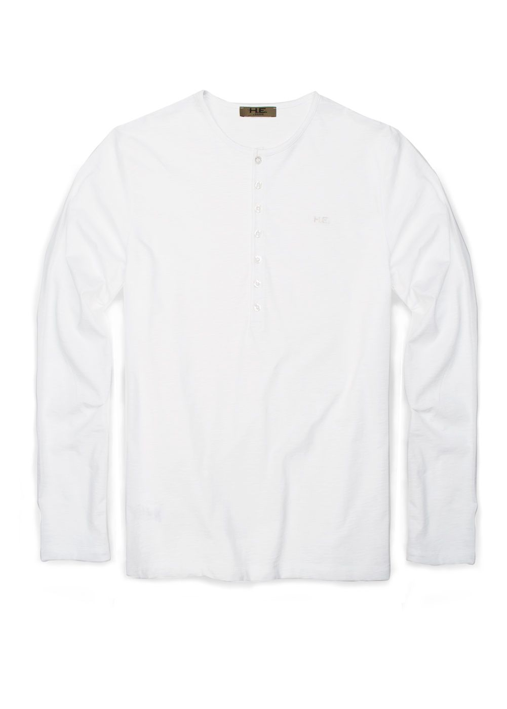 Mango Mens Mango Henley t-shirt, Off White product image