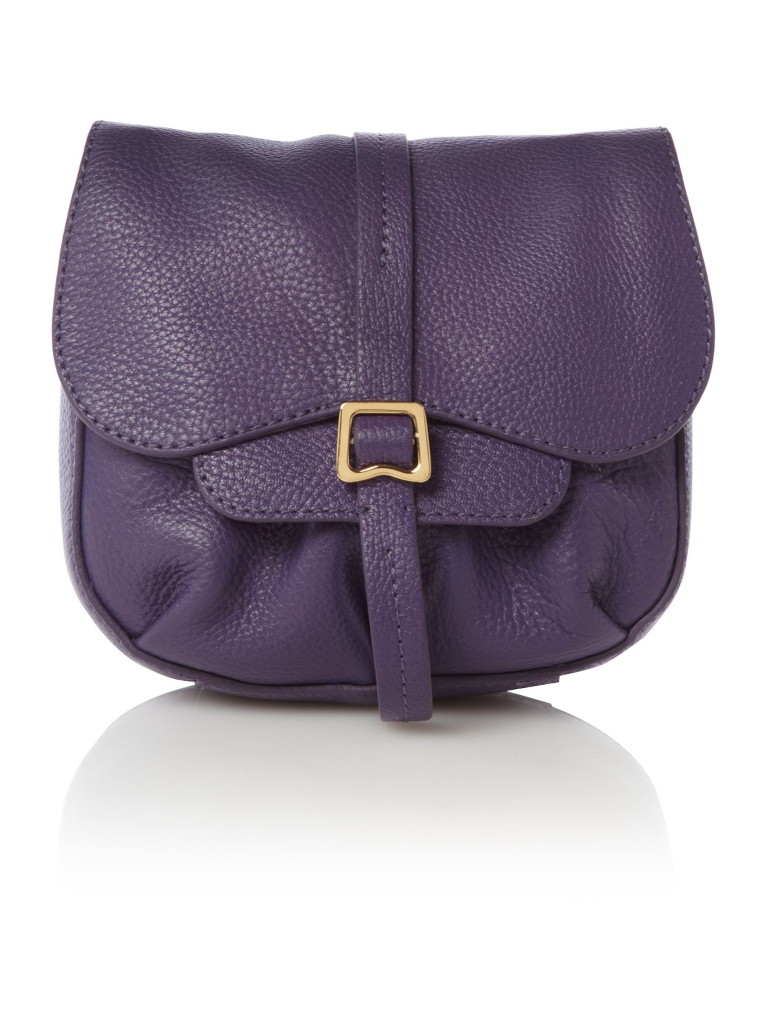 Mary Portas & Radley Grosvenor small flapover cross body bag, Purple