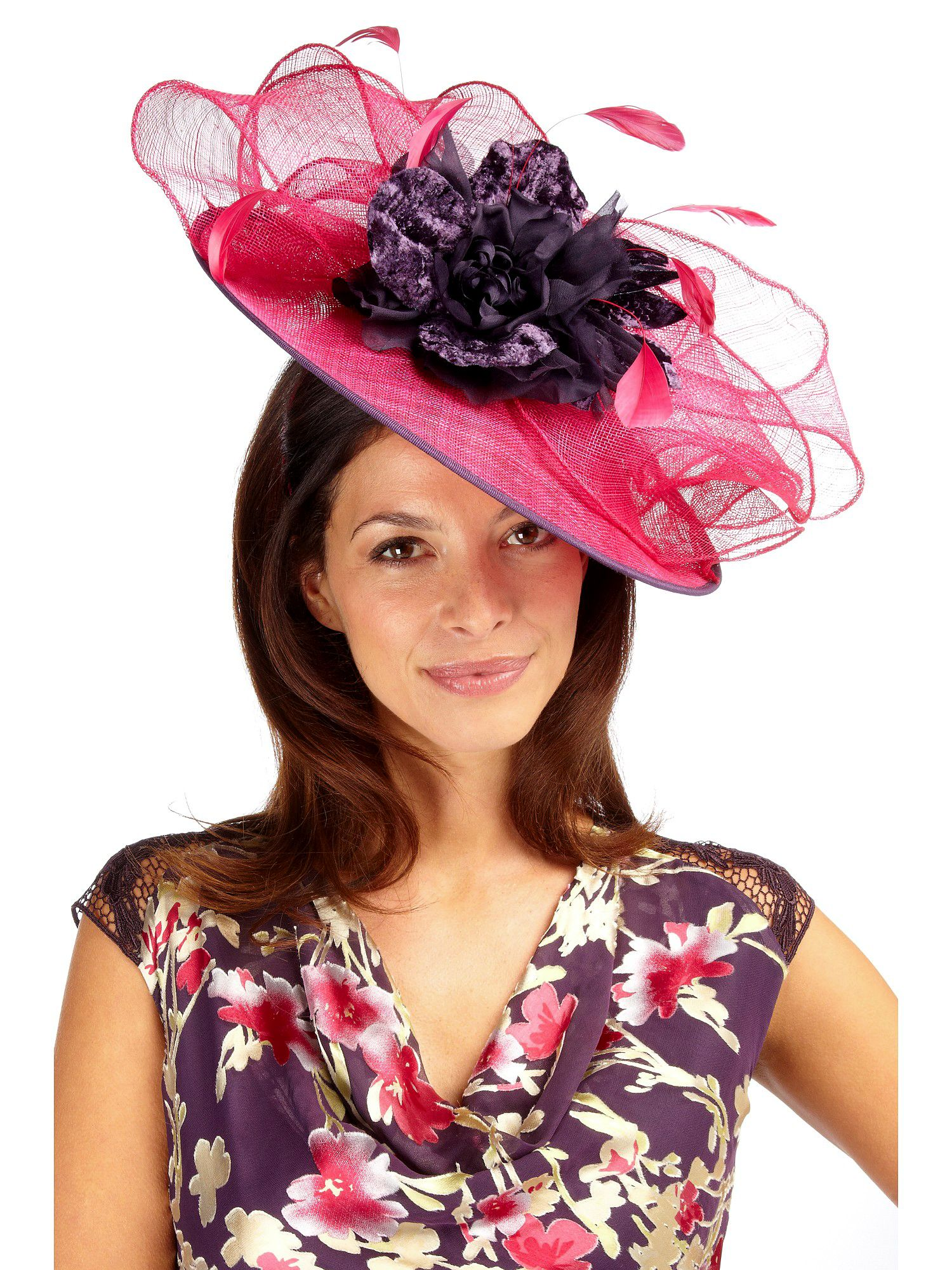 Ruby rose statement fascinator