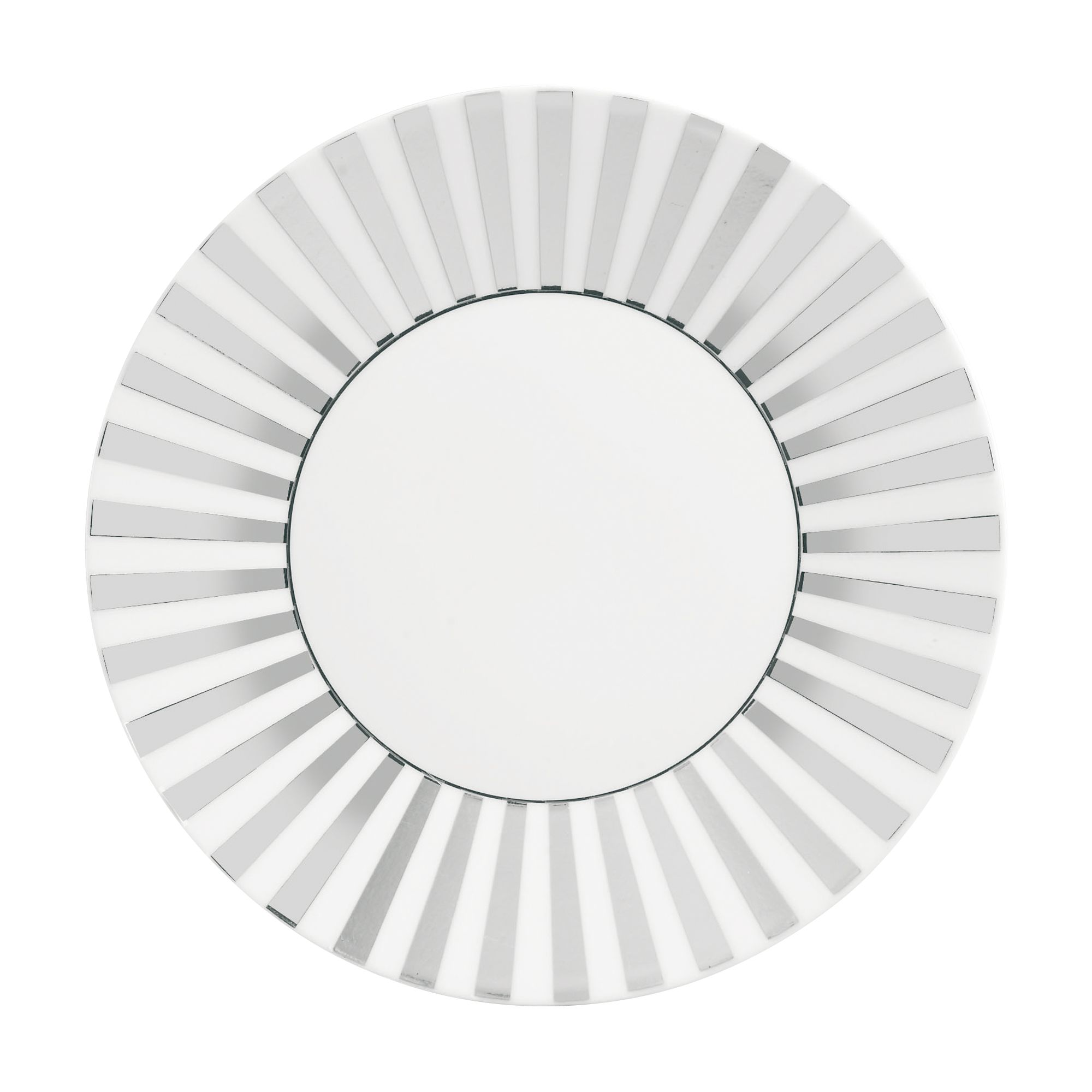 Platinum Striped 23cm Plate