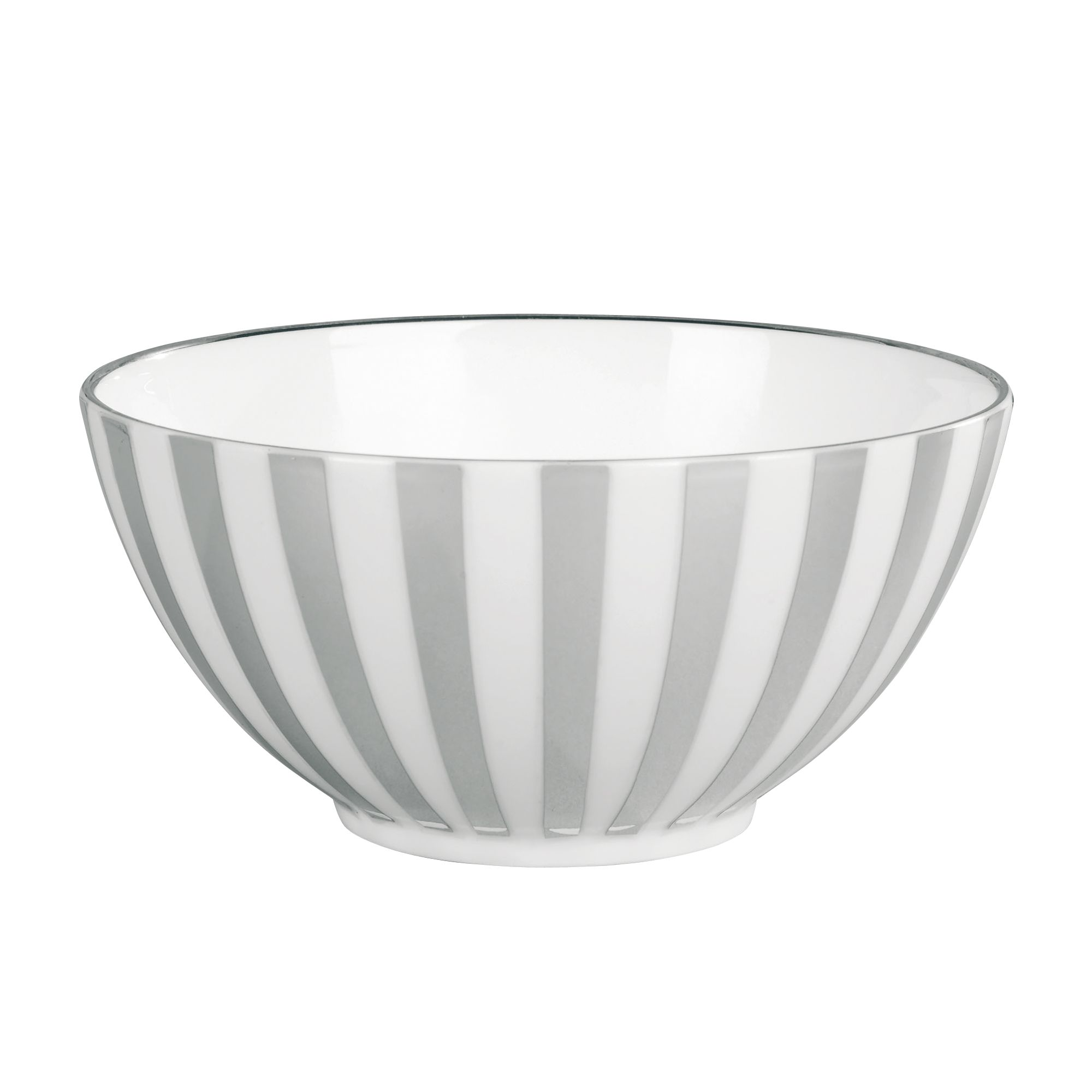 Platinum Striped 14cm Bowl