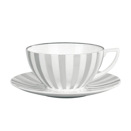 Wedgwood Jasper Conran Platinum Striped Teacup