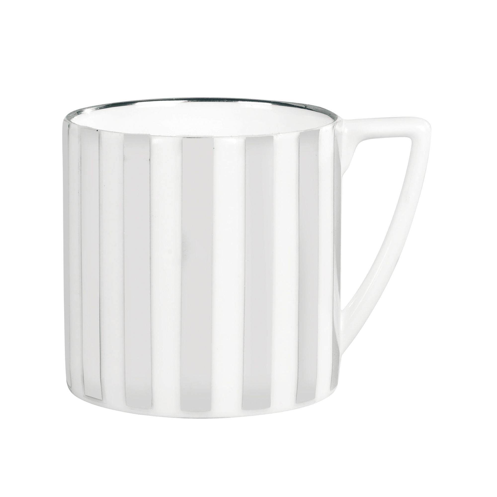 Platinum Striped Mini Mug