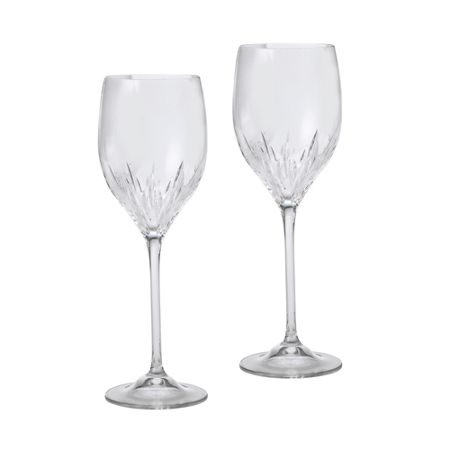 Wedgwood Vera Wang duchesse wine set of 2