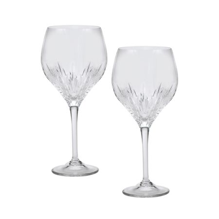 Wedgwood Vera Wang duchesse goblet set of 2