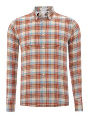 J Lindeberg Madras checked shirt