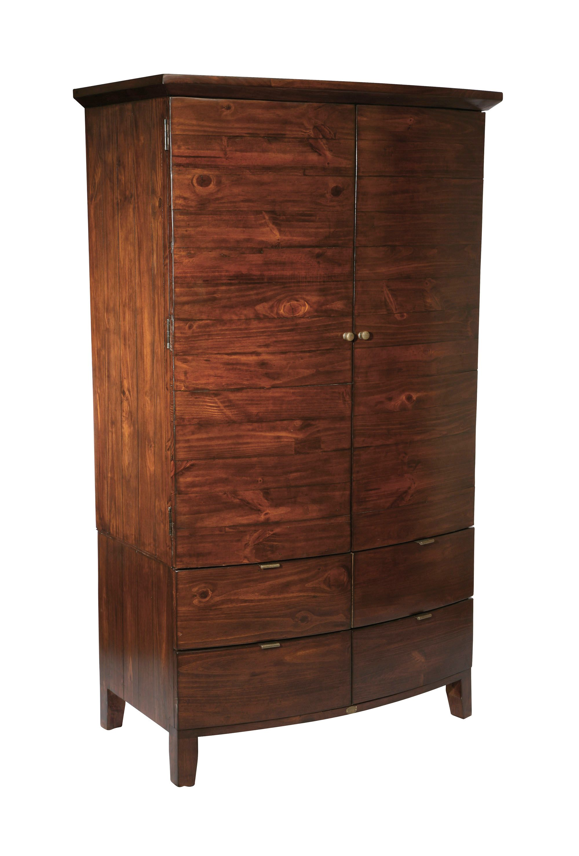 Lyon double wardrobe with 4 drawers