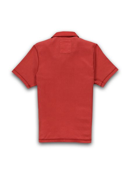 Racing Green Short sleeve pigment dyed rugby