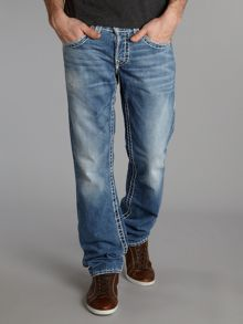 Geno Super T Straight Fit Jeans