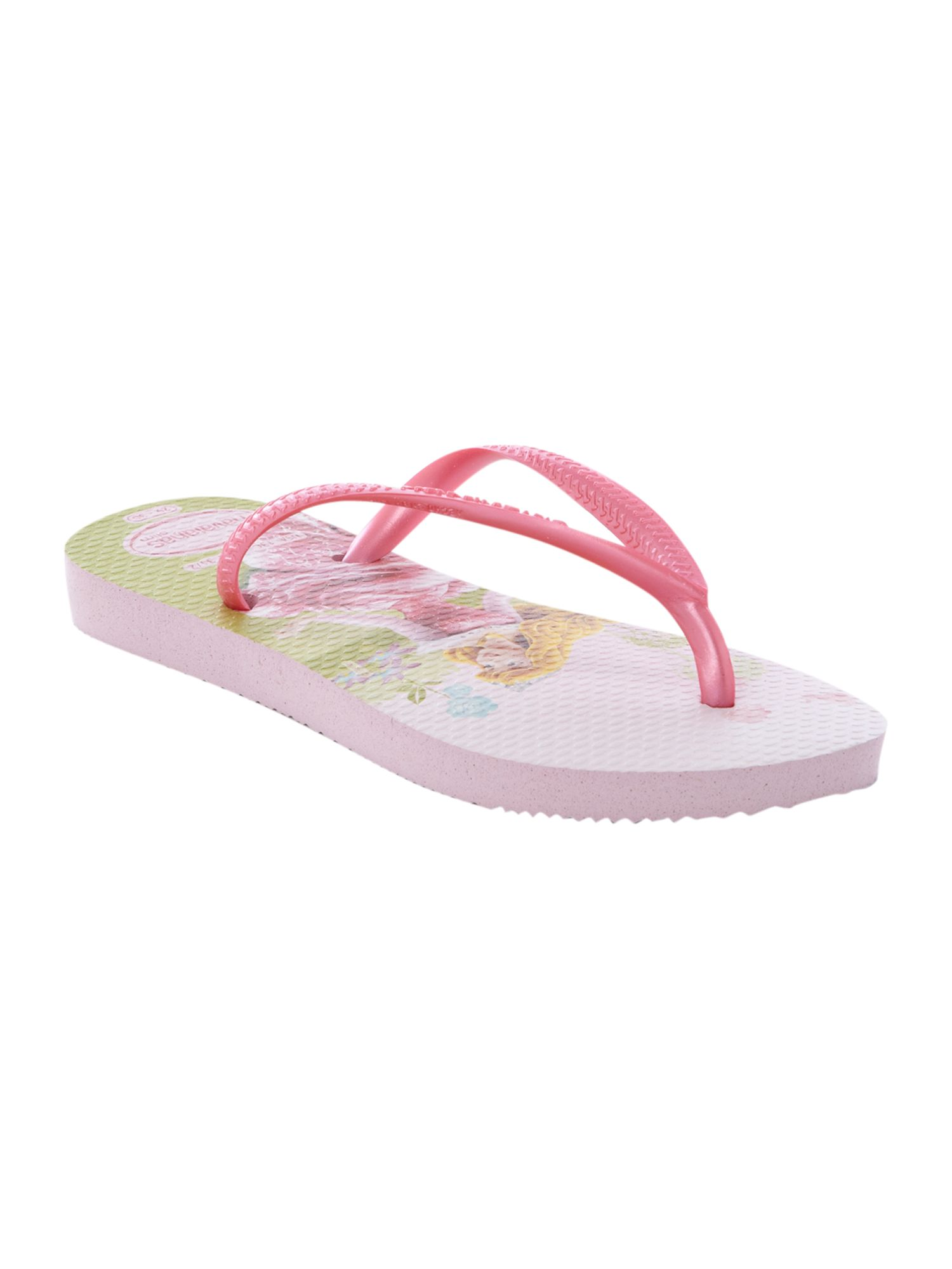 Kids disney princess flip flops