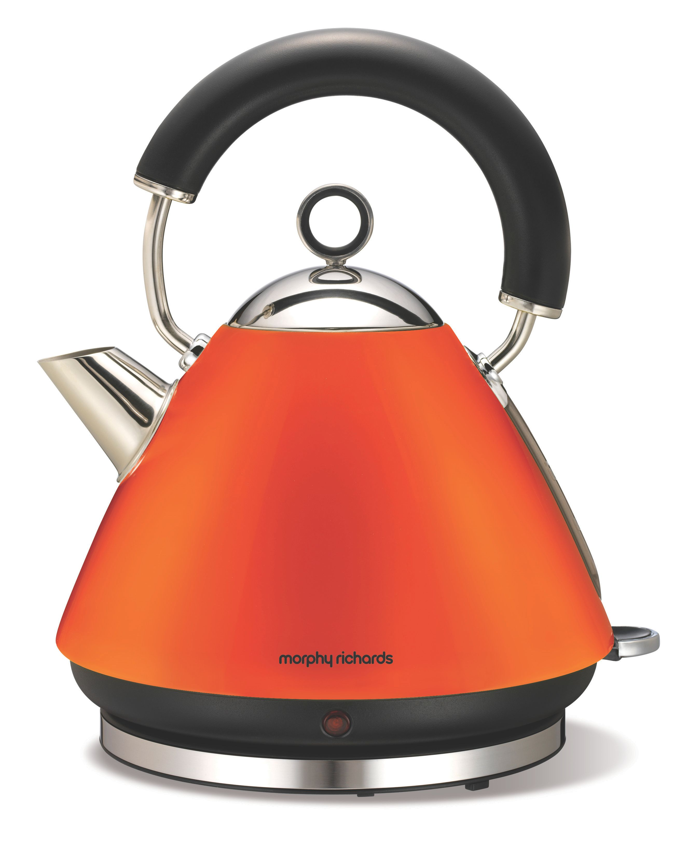 Traditional Orange Kettle 43828