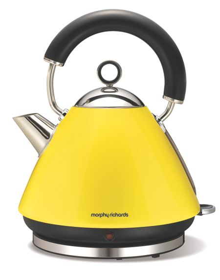 Morphy Richards Traditional Yellow Kettle 43827