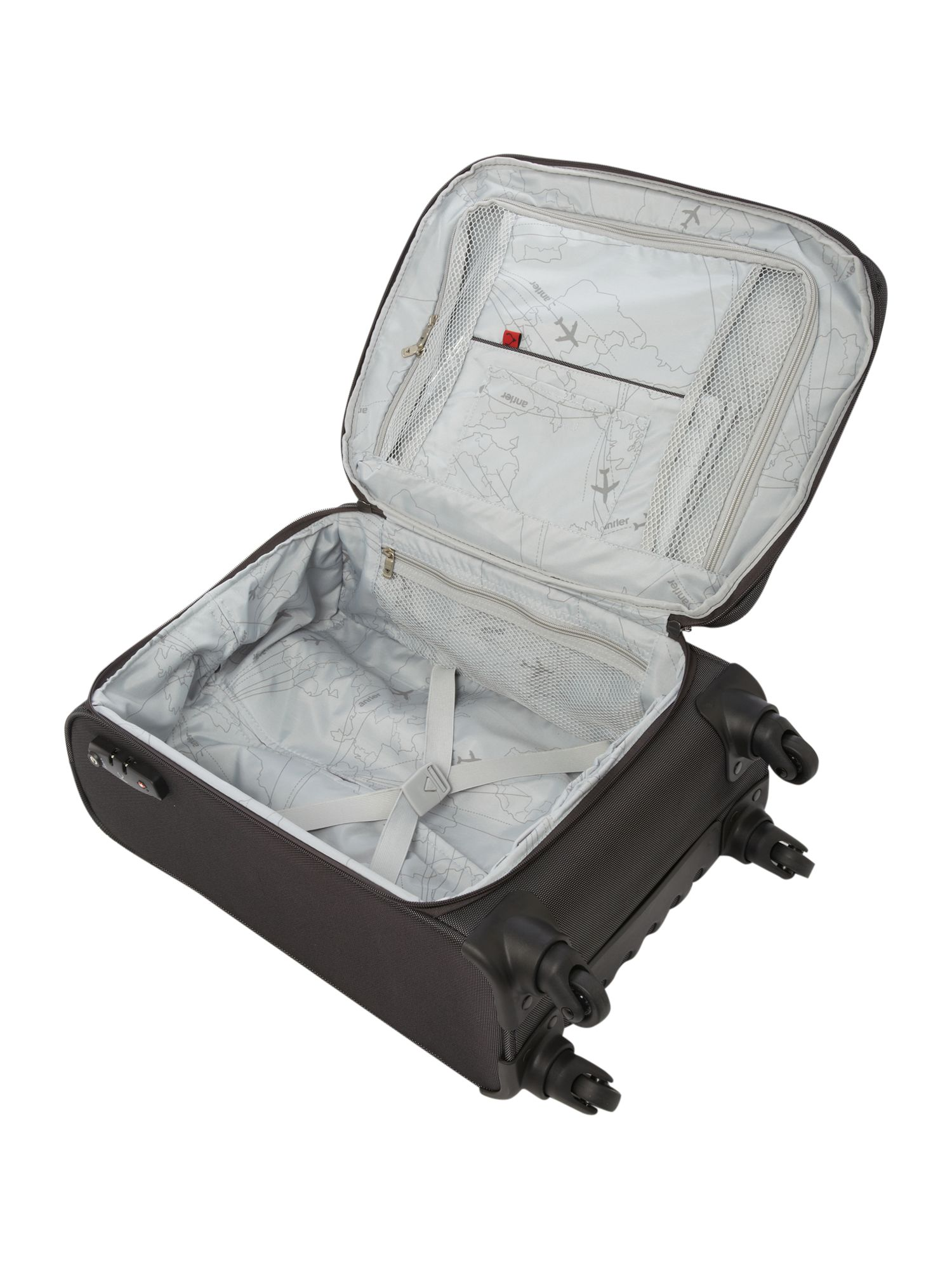 Airstream Charcoal 56cm 4 Wheel Soft Cabin Case