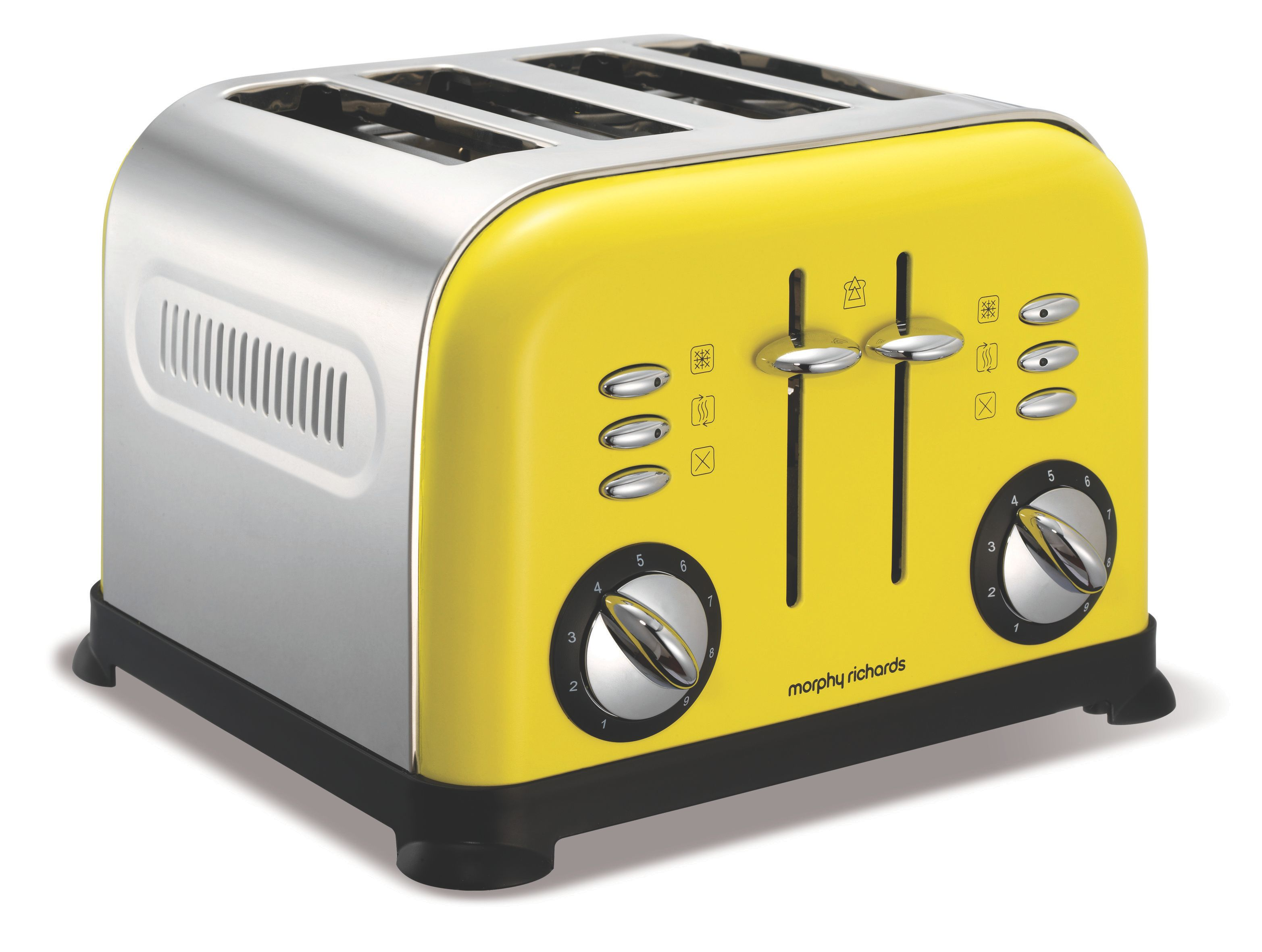 4-Slice Yellow Toaster 44797