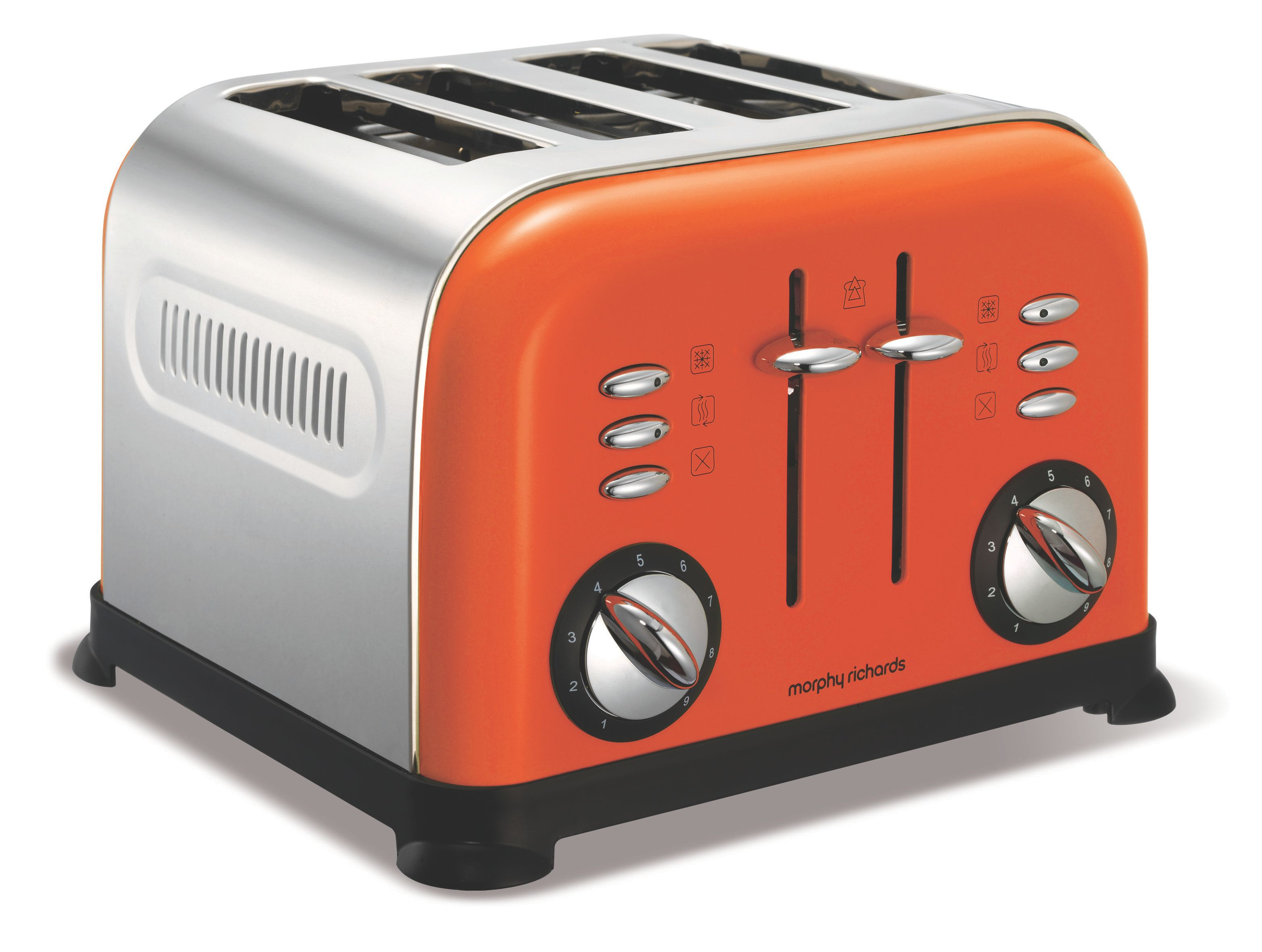 4-Slice Orange Toaster 44798