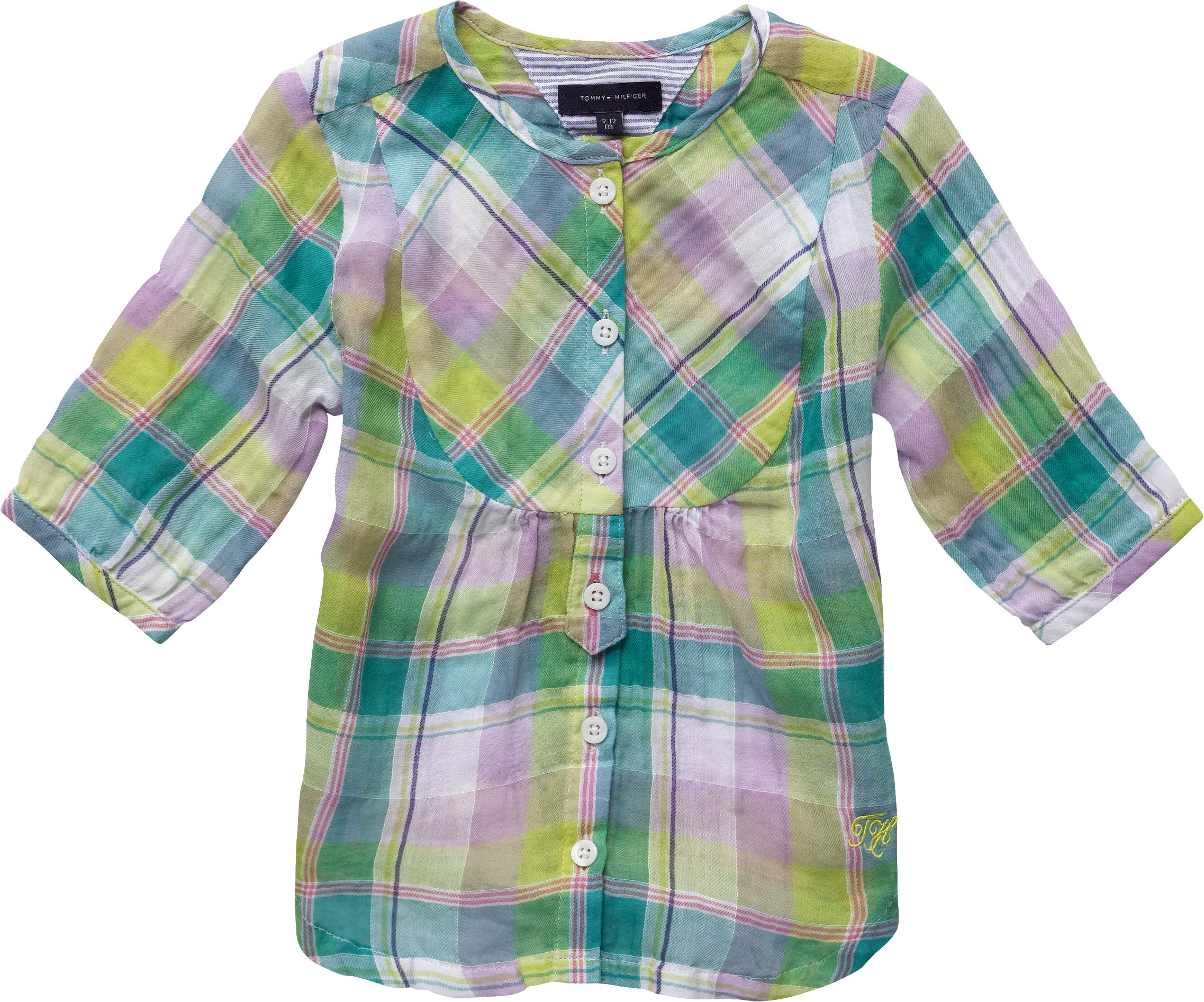 Tommy Hilfiger East side check mini blouse, product image
