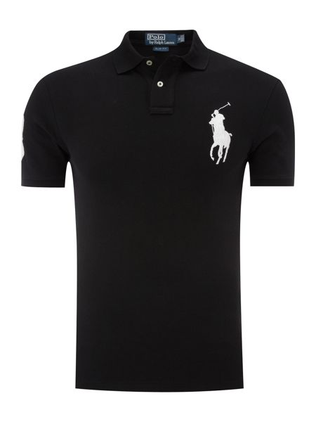 Polo Ralph Lauren 7 inch solid PP slim fitted polo shirt
