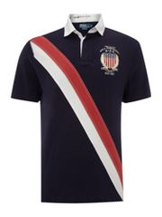 Polo Ralph Lauren Custom fitted sash polo shirt with crest