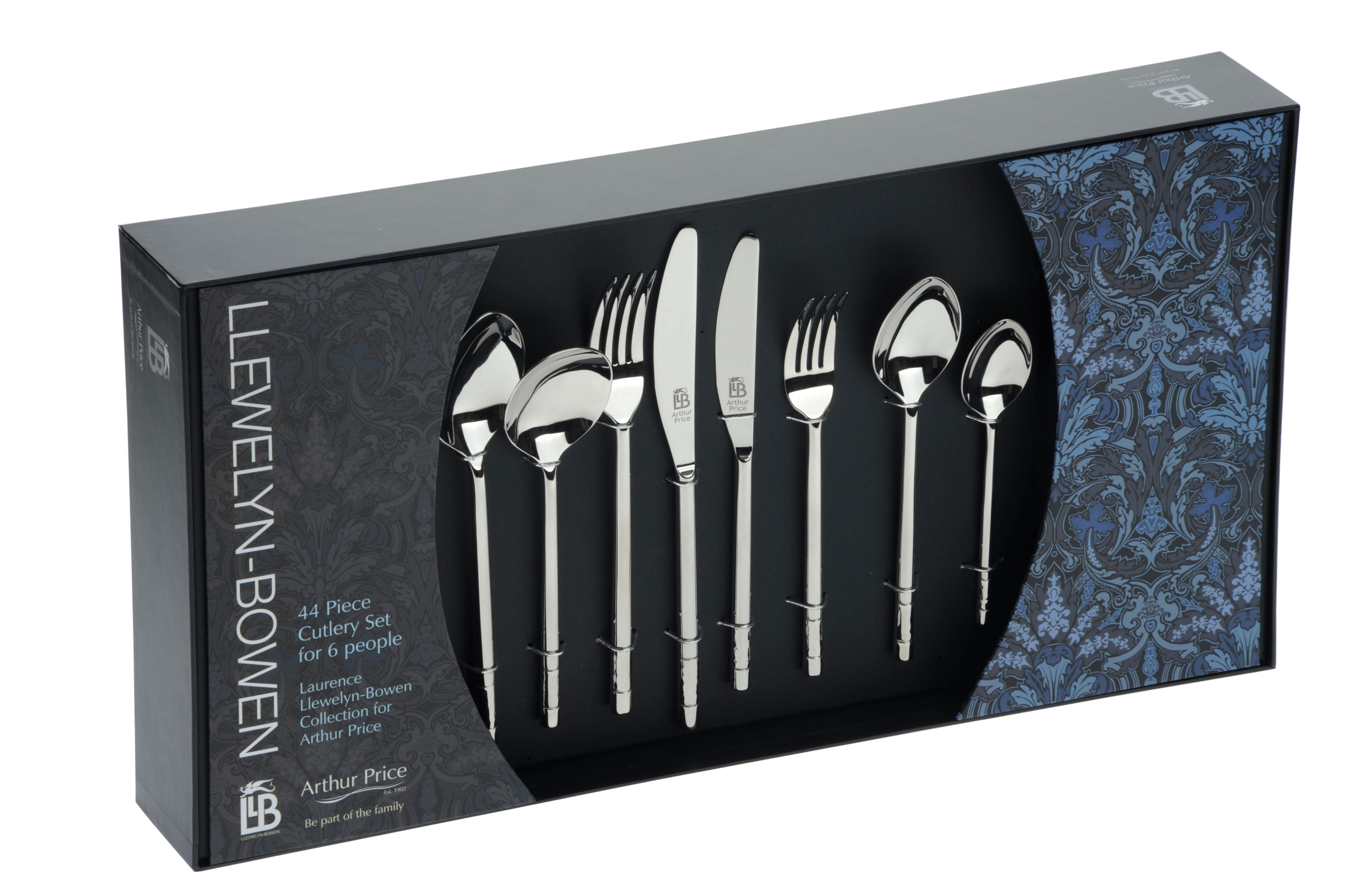 44 piece 6 person boxed set
