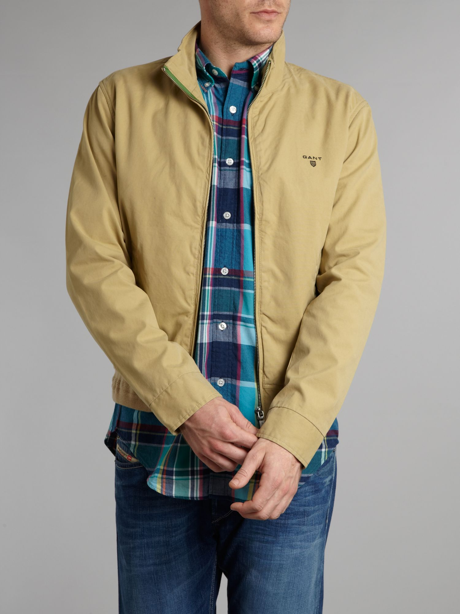 Canvas Harrington jacket