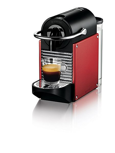 Pixie Carmin Red Nespresso Coffee Maker 11325